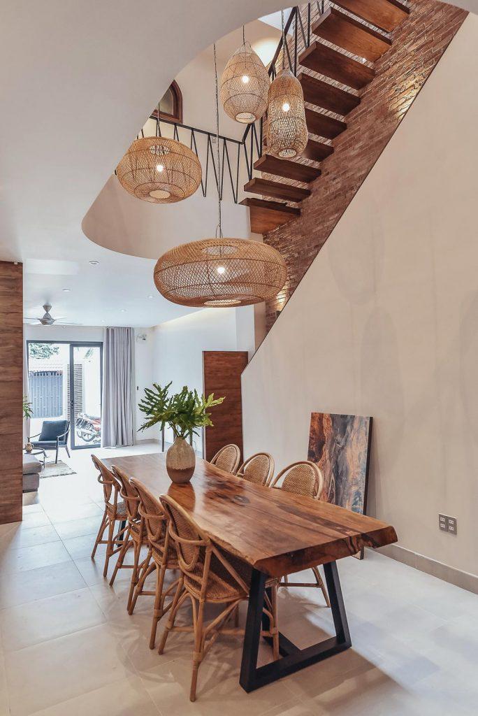 Cầu thang nhà phố và xu hướng không gian mở trong thiết kế nhà ở. 1