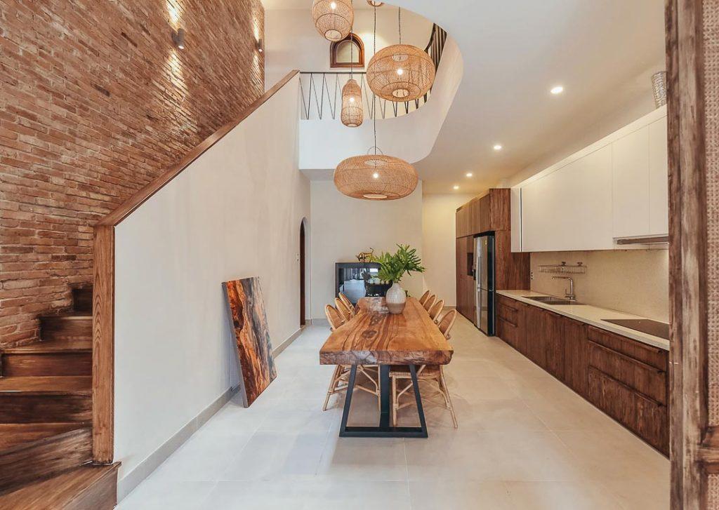 Cầu thang nhà phố và xu hướng không gian mở trong thiết kế nhà ở. 3