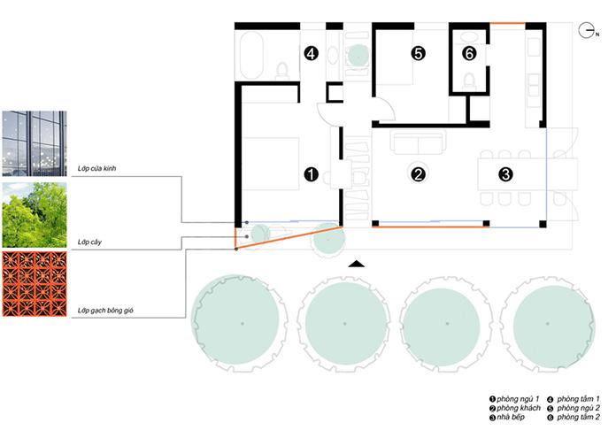 Mẫu thiết kế nhà vườn hiện đại với không gian mở, đẹp như mơ. 2
