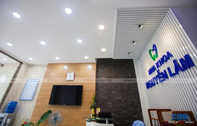 Nhà phố Bình Phước 4,5m x 18m sang trọng, đẹp mắt khi kết hợp phòng khám nha khoa 11