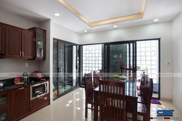 Nhà phố Bình Phước 4,5m x 18m sang trọng, đẹp mắt khi kết hợp phòng khám nha khoa 22