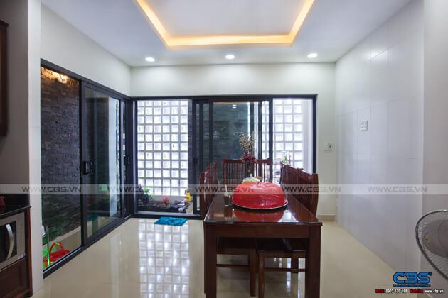 Nhà phố Bình Phước 4,5m x 18m sang trọng, đẹp mắt khi kết hợp phòng khám nha khoa 23