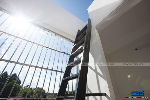 Nhà phố Bình Phước 4,5m x 18m sang trọng, đẹp mắt khi kết hợp phòng khám nha khoa 43