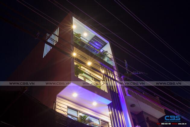 Nhà phố Bình Phước 4,5m x 18m sang trọng, đẹp mắt khi kết hợp phòng khám nha khoa 7