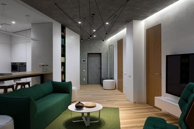 Bí quyết trang trí nhà đẹp sang với nội thất tương phản 4