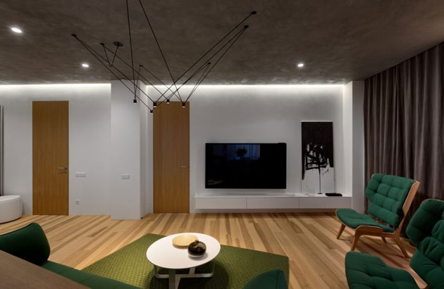 Bí quyết trang trí nhà đẹp sang với nội thất tương phản 5