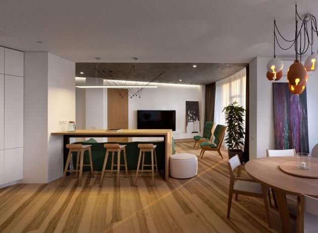 Bí quyết trang trí nhà đẹp sang với nội thất tương phản 6