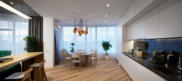 Bí quyết trang trí nhà đẹp sang với nội thất tương phản 7
