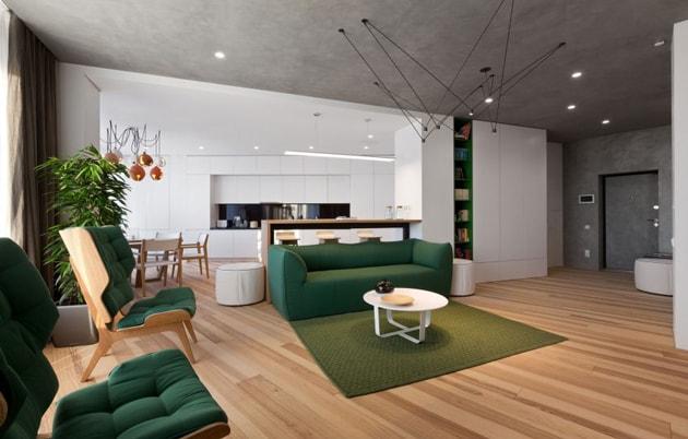 Bí quyết trang trí nhà đẹp sang với nội thất tương phản 2