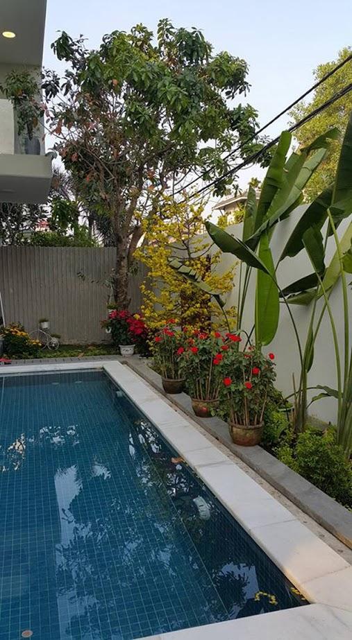 Tham quan sân vườn mát mắt bên trong biệt thự của Hồ Ngọc Hà 9