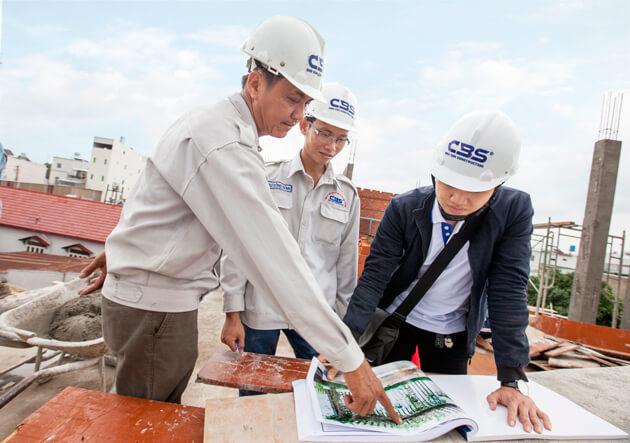 Công ty xây dựng quận Bình Thạnh - Phú Nhuận 1