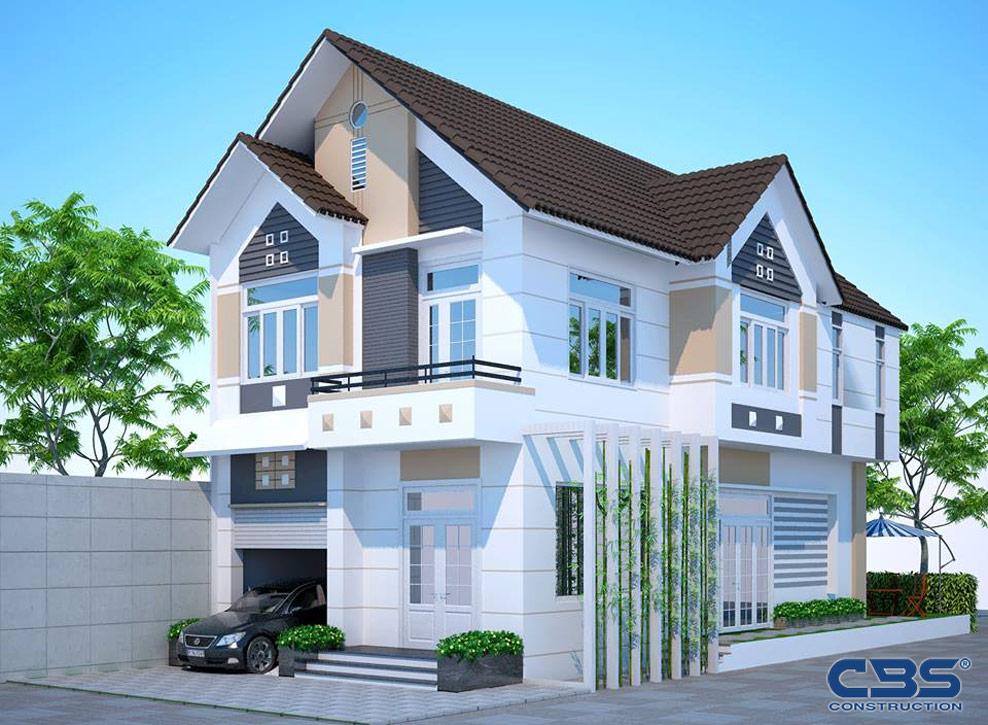 Các kiểu mái nhà đẹp, hiện đại phổ biến nhất hiện nay tại Việt Nam 3