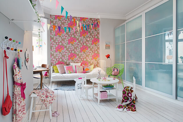 Mê tít cách trang trí căn hộ Scandinavian truyền cảm hứng đầy màu sắc 17
