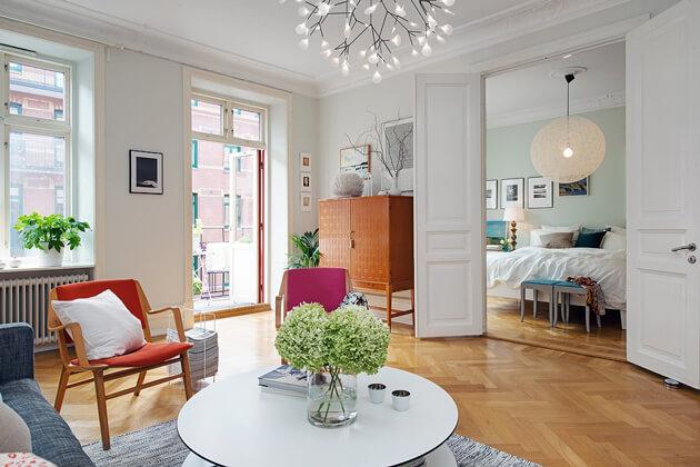 Mê tít cách trang trí căn hộ Scandinavian truyền cảm hứng đầy màu sắc 4