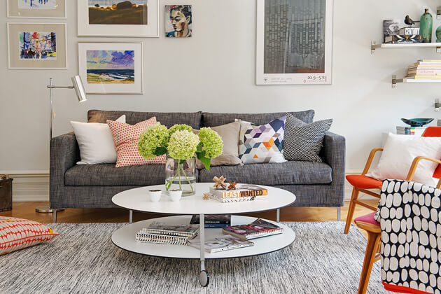 Mê tít cách trang trí căn hộ Scandinavian truyền cảm hứng đầy màu sắc 5
