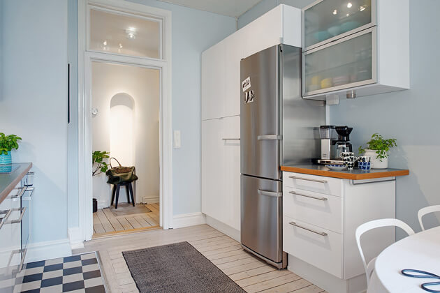 Mê tít cách trang trí căn hộ Scandinavian truyền cảm hứng đầy màu sắc 8