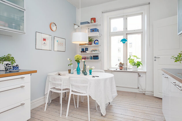 Mê tít cách trang trí căn hộ Scandinavian truyền cảm hứng đầy màu sắc 9