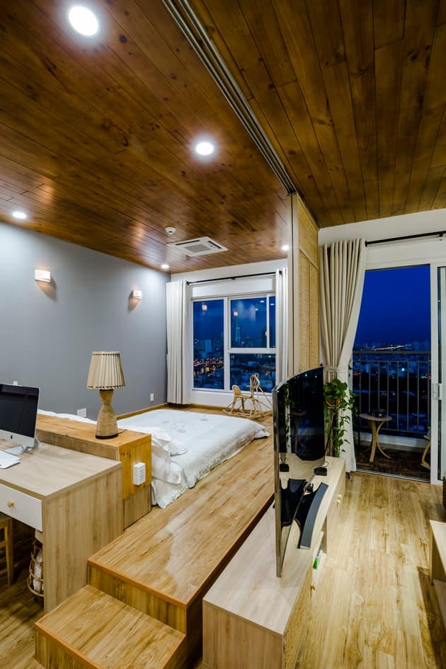 Căn hộ 65m2 đẹp như những căn resort miền biển của đôi uyên ương trẻ 3