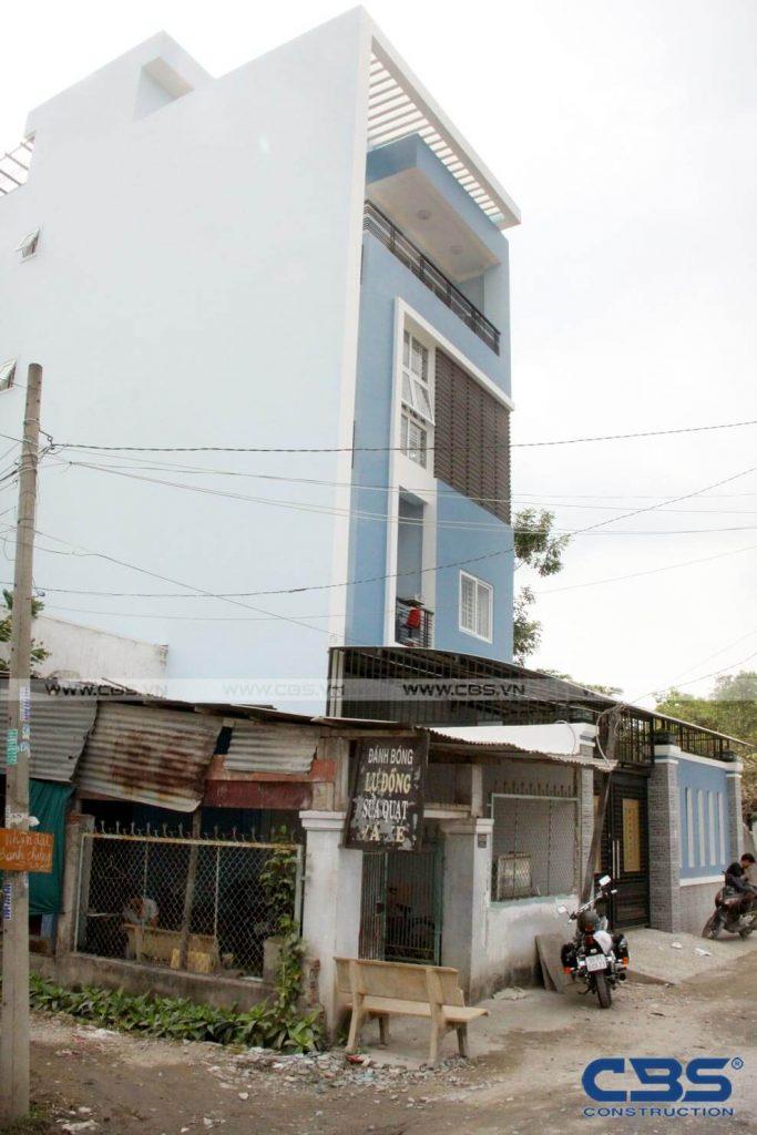 Xây dựng mới nhà cô Xuân, Quận Bình Tân 4