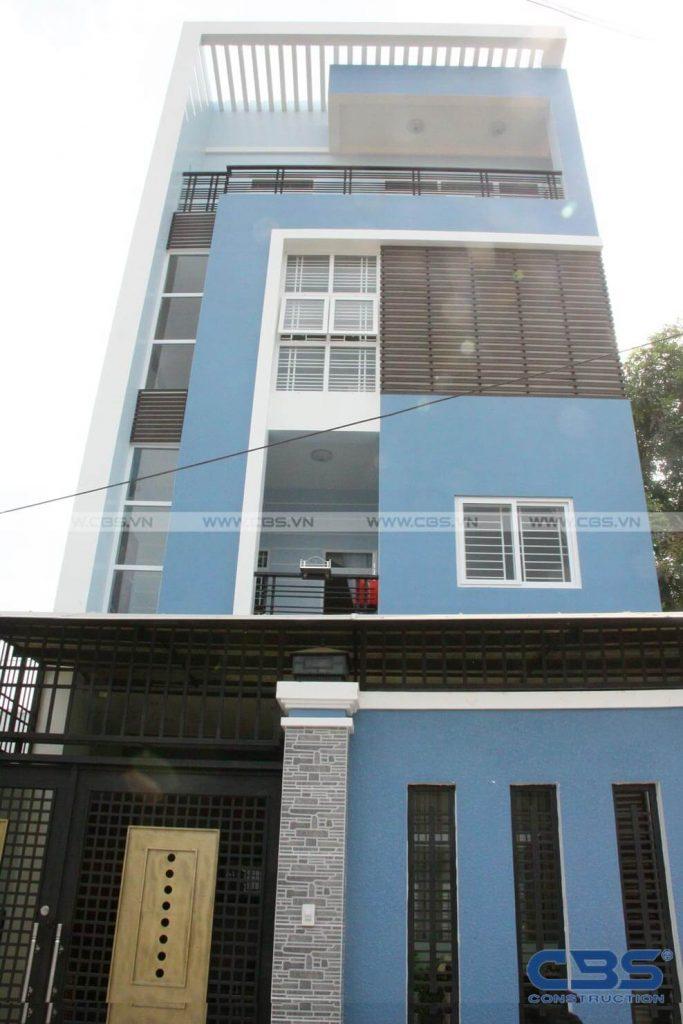 Xây dựng mới nhà cô Xuân, Quận Bình Tân 1
