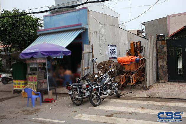 Khởi công công trình nhà anh Minh (4m x25,3m) - P. Tây Thạnh, Q. Tân phú 14
