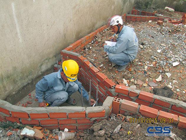 Khởi công công trình nhà anh Minh (4m x25,3m) - P. Tây Thạnh, Q. Tân phú 16