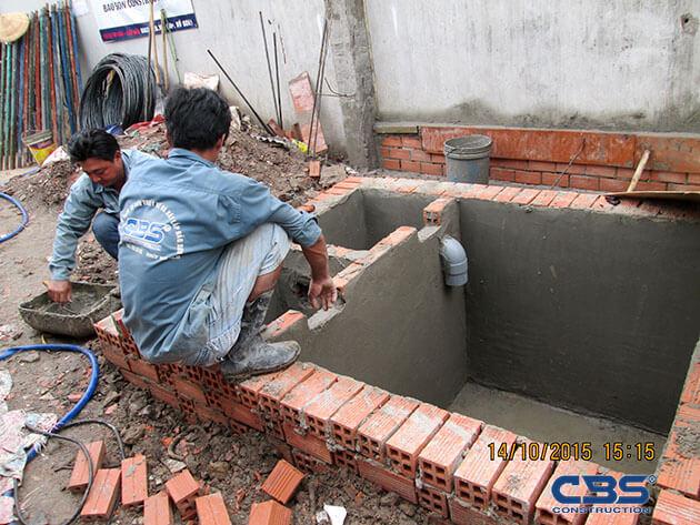 Khởi công công trình nhà anh Minh (4m x25,3m) - P. Tây Thạnh, Q. Tân phú 18