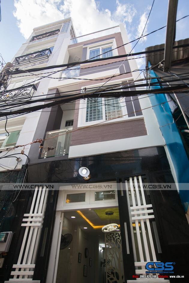 Nhà phố 4 tầng lầu hiện đại đẹp chỉ với diện tích 30m2 2