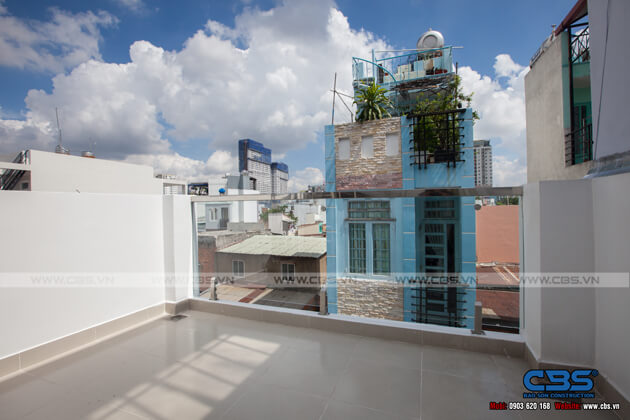 Nhà phố 4 tầng lầu hiện đại đẹp chỉ với diện tích 30m2 18