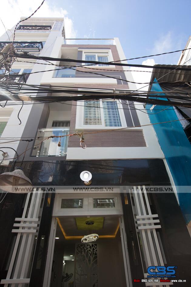 Nhà phố 4 tầng lầu hiện đại đẹp chỉ với diện tích 30m2 1