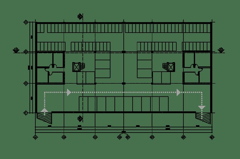 Đồ án chung cư thấp tầng: tổng hợp các bản vẽ thiết kế đẹp 13