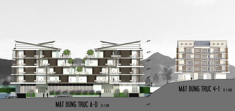 Đồ án chung cư thấp tầng: tổng hợp các bản vẽ thiết kế đẹp 15