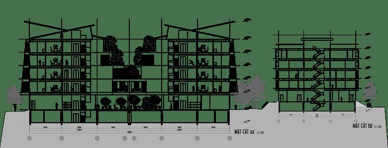 Đồ án chung cư thấp tầng: tổng hợp các bản vẽ thiết kế đẹp 16