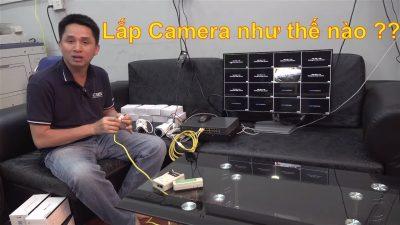 Giám đốc công ty Xây dựng làm liều tự mò lắp hệ thống camera và cái kết ….!
