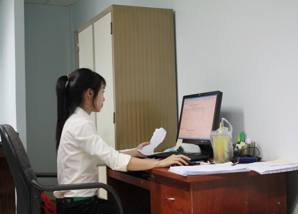 Góc làm việc tại văn phòng công ty (2012) 32