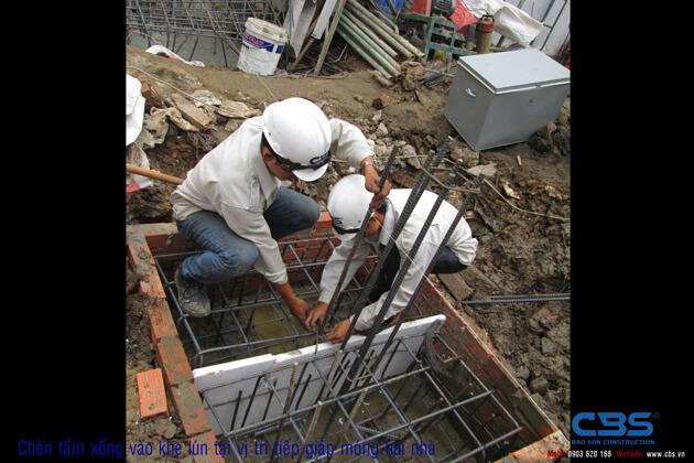Hình ảnh thi công kết cấu nhà anh Roản An Lộc 12