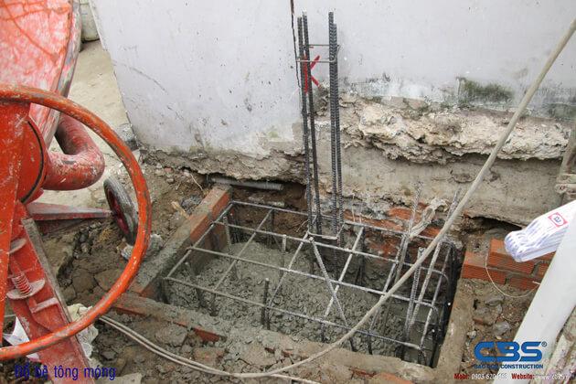 Hình ảnh thi công kết cấu nhà anh Roản An Lộc 15