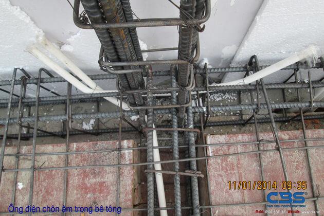 Hình ảnh thi công kết cấu nhà anh Roản An Lộc 23