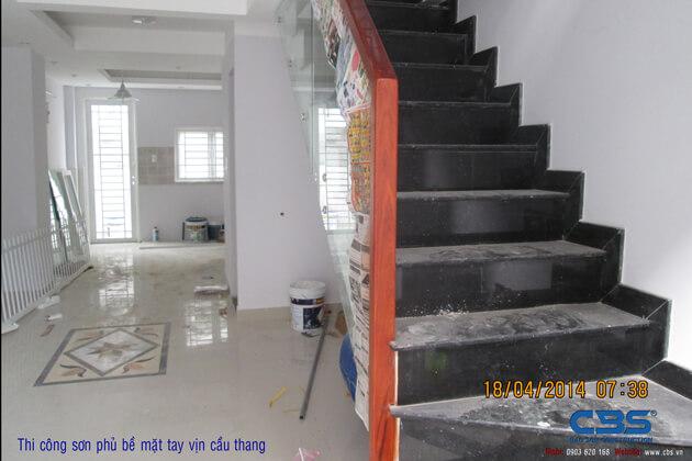 Hình ảnh thi công kết cấu nhà anh Roản An Lộc 36