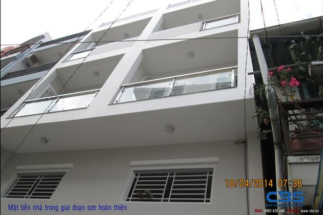 Hình ảnh thi công kết cấu nhà anh Roản An Lộc 37
