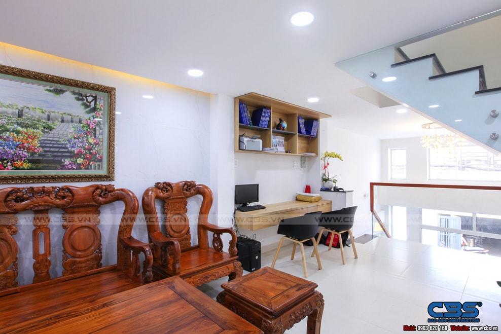 Xây dựng mới nhà cô Hương, Quận 11 14
