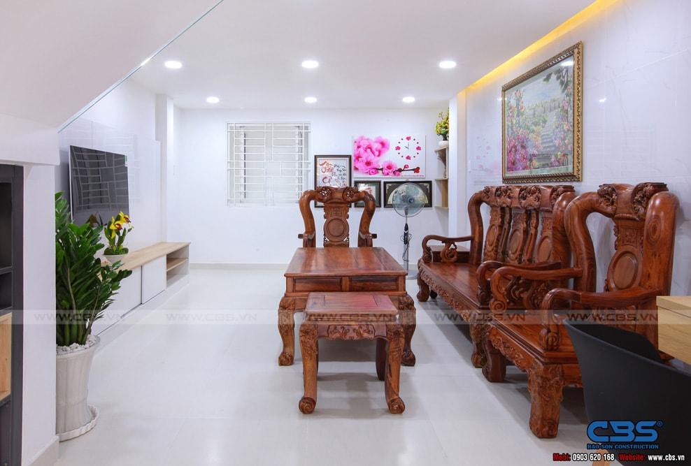 Xây dựng mới nhà cô Hương, Quận 11 15