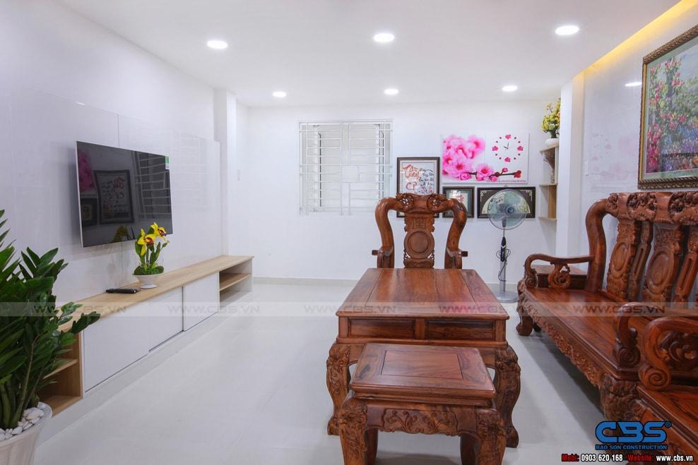 Xây dựng mới nhà cô Hương, Quận 11 16