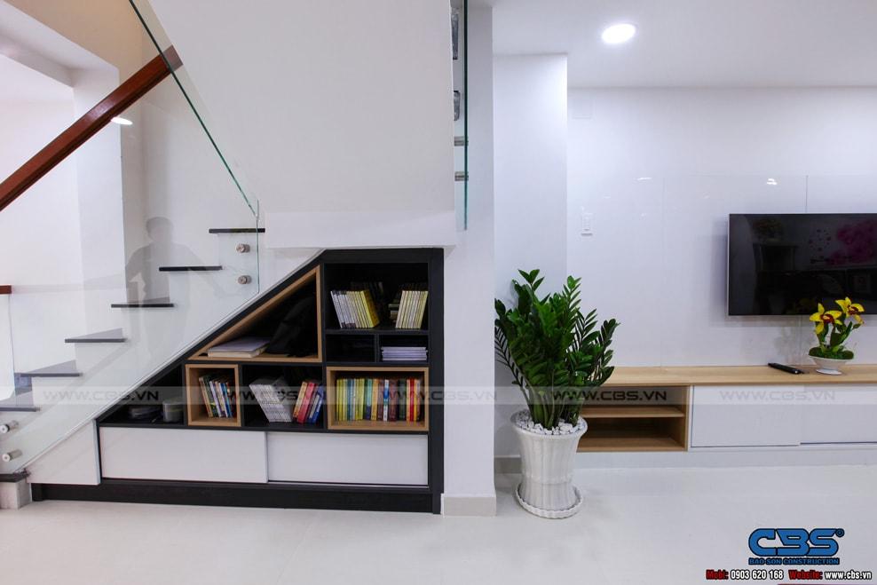 Xây dựng mới nhà cô Hương, Quận 11 19