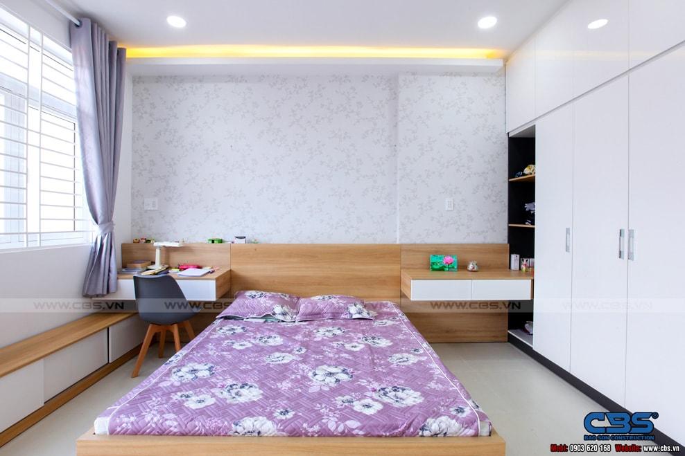Xây dựng mới nhà cô Hương, Quận 11 100