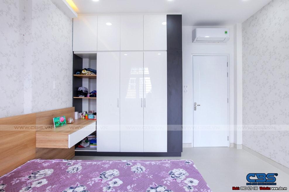 Xây dựng mới nhà cô Hương, Quận 11 28
