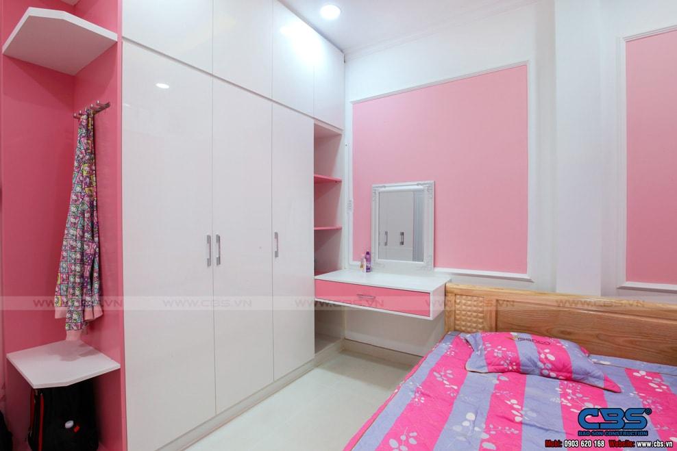 Xây dựng mới nhà cô Hương, Quận 11 32