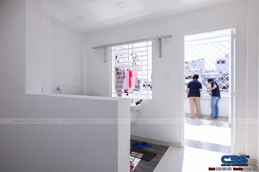 Xây dựng mới nhà cô Hương, Quận 11 109