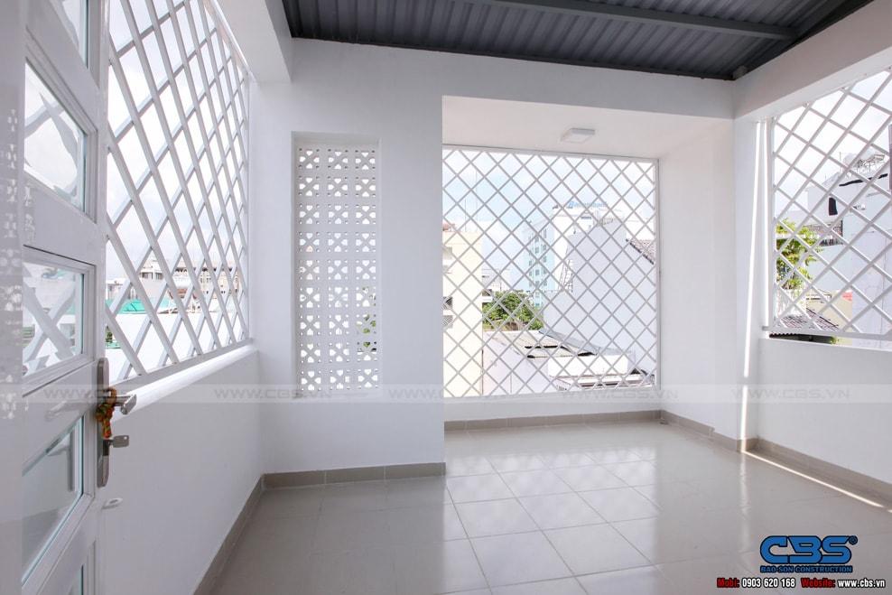 Xây dựng mới nhà cô Hương, Quận 11 36