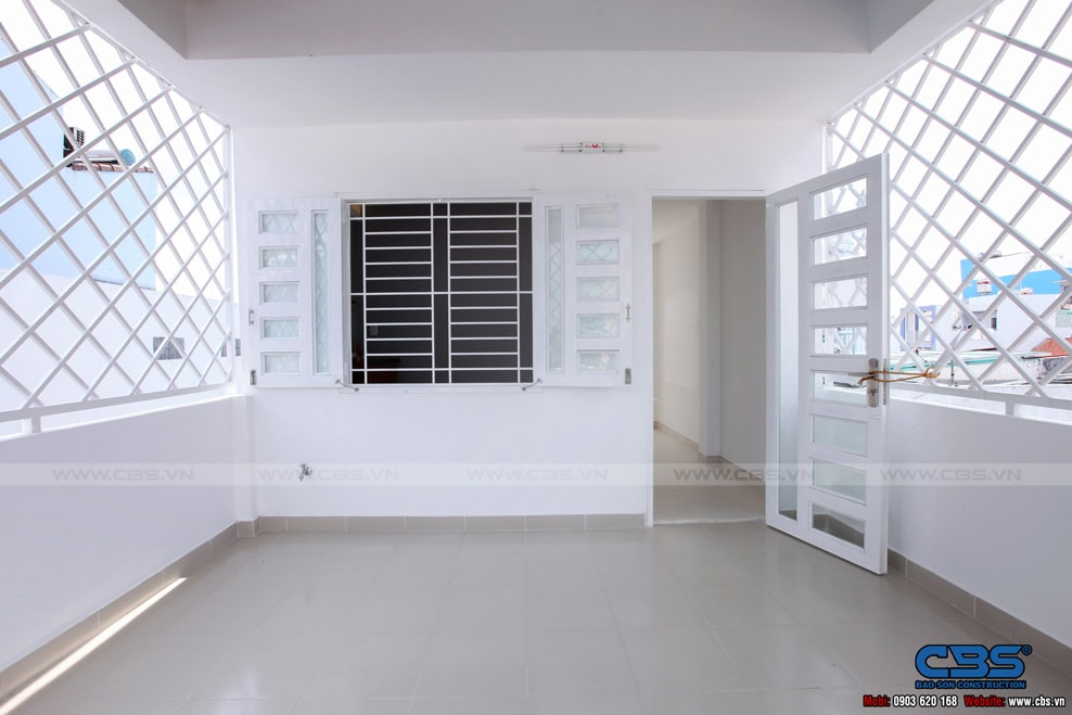 Xây dựng mới nhà cô Hương, Quận 11 111